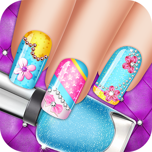 Nail Shiny Art Design Stylist: Glowing Colors