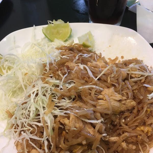 GF Chicken Pad Thai