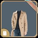 Man Trench Coat Photo Maker icon