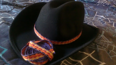 Photo: New trim done, made into a hatband for my Sweetie