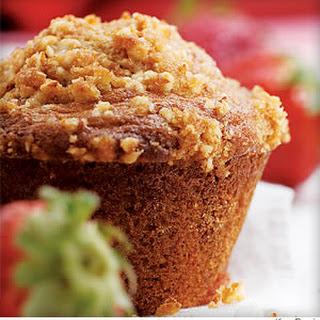Strawberry-Orange Muffins.