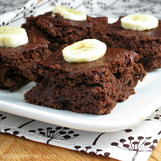 Chocolate Banana Brownies.