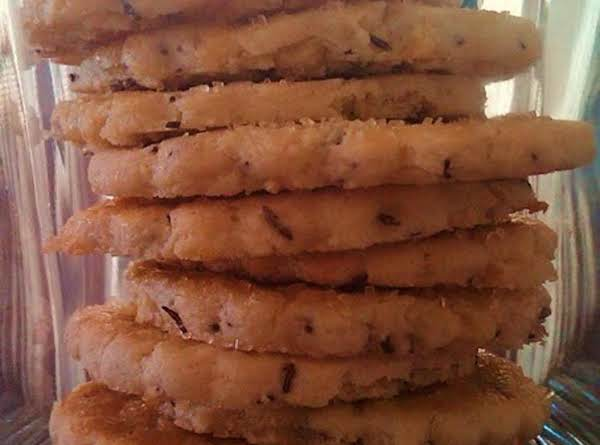 Lemon Caraway Seed Cookies Recipe