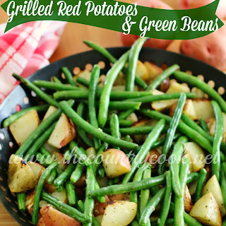 Grilled Red Potatoes & Green Beans
