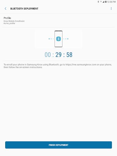 Samsung Knox Deployment  screenshots 10