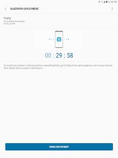 Samsung Knox Deployment Screenshot