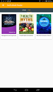 Swift eBook Reader- screenshot thumbnail