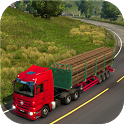 Truck Games : Real Wood Cargo Transporter 3D Game icon