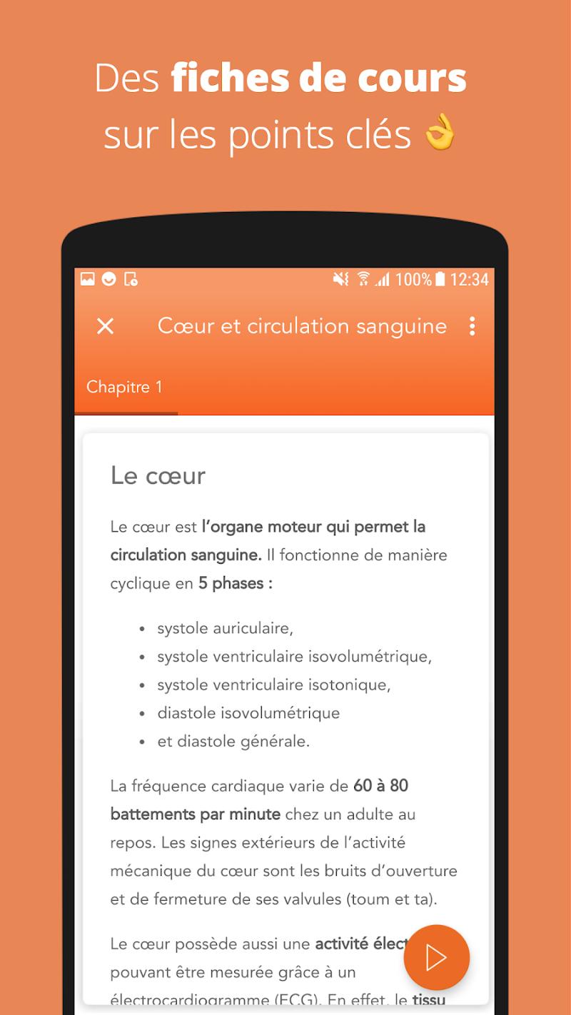 Скриншот Concours Paramédical & Social - Révision
