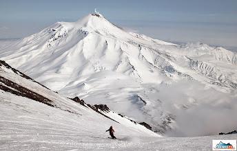 Photo: Skier: Matus, location: volcano Koryaksky, Kamchatka-peninsula