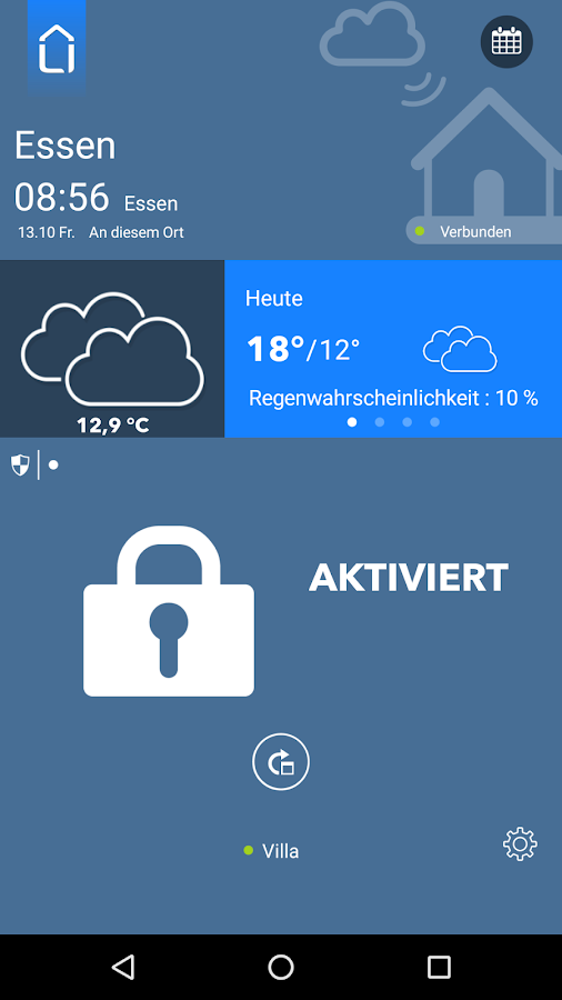 Smart Home – Screenshot