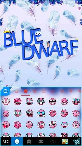 Download Blue Dwarf Kika Keyboard Theme APK latest version app by
