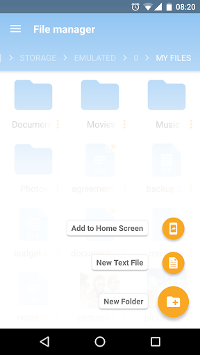 File Manager screenshot 3