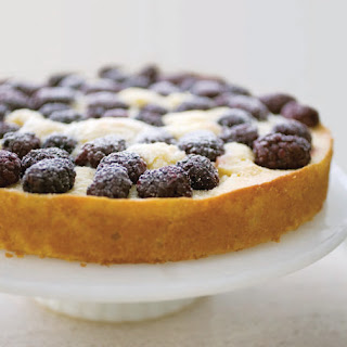 Blackberry Cornmeal Cake