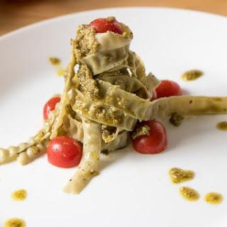 High Protein Pasta Christmas Tree.