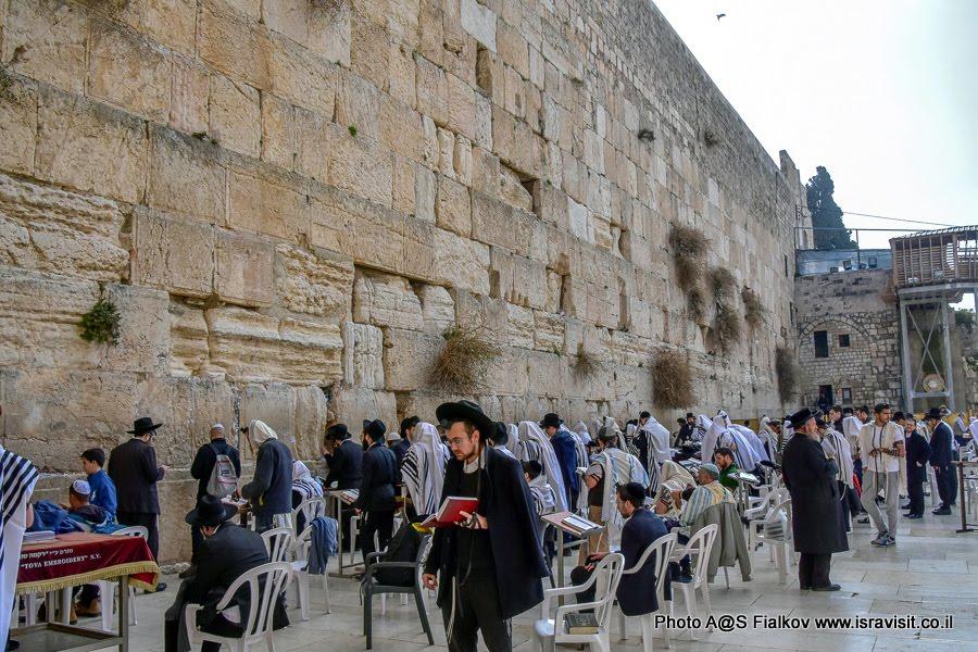 Стена Плача. Иерусалим.