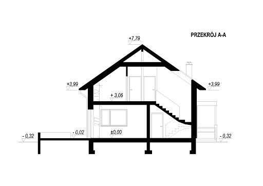 LIM House 07 - Przekrój