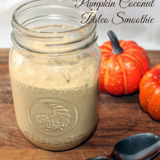 Pumpkin Coconut Paleo Smoothie.