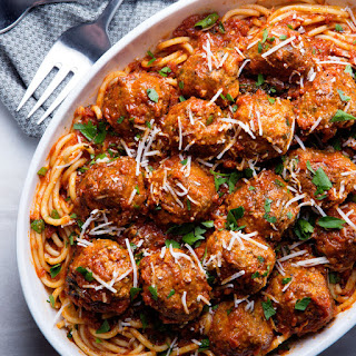 Our Favorite Spaghetti and Meatballs