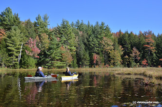 Photo: A perfect day for a paddle at Lowell Lake State Park by Linda Carlsen Sperry