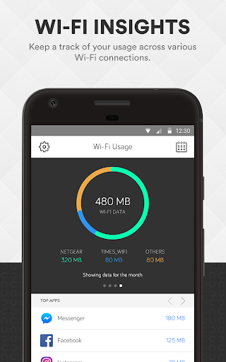 Smart Data Usage Monitor & Speed Test - smartapp screenshot 3