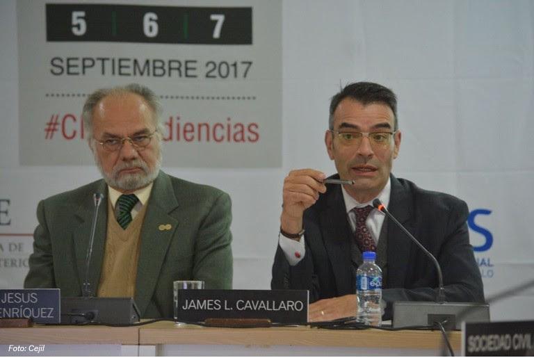 RELATOR PARA LOS PRIVADOS DE LIBERTAD DE LA CIDH RECONOCIÓ EL TRABAJO DE LA MINISTRA DE JUSTICIA Y PAZ