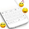 White Keyboard For Android icon