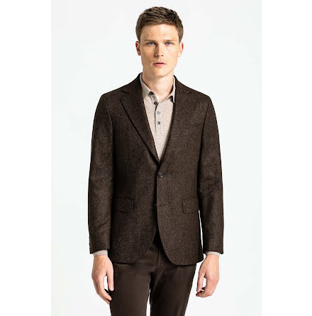 Oscar Jacobson Fogerty blazer hazelnut brown