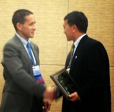 Photo: Best Published Paper Award