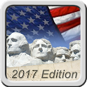 Free US Citizenship Test 2017 icon