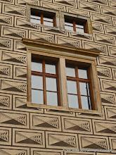 Photo: Windows and Scraffito Wall Design, Schwarzenberg Palace, Prague