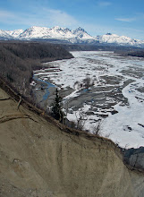 Photo: Talkeetna Mtns. + Matanuska River