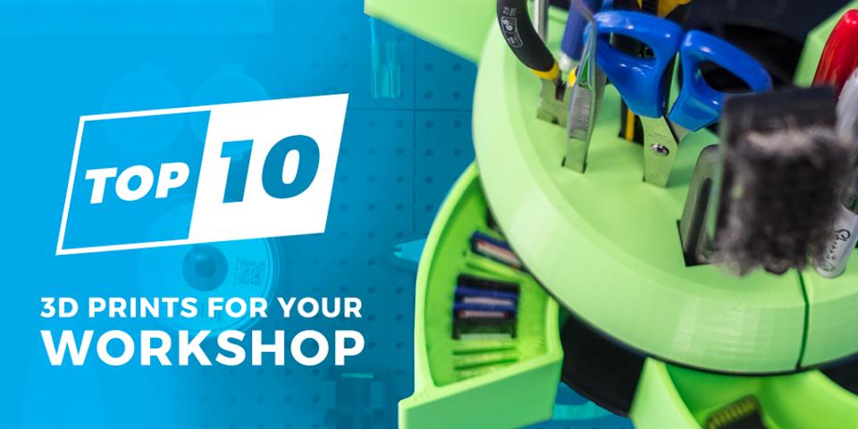 Top Ten 3D Prints For Your Workbench