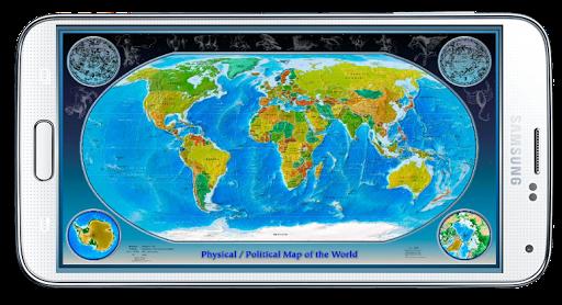 政治世界地図 - オフライン