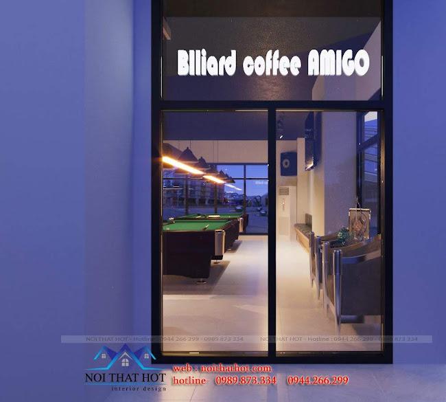 thiết kế quán bida amigo