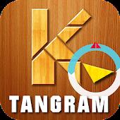 Tangram letters