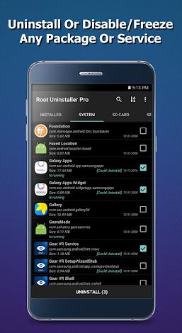 Root Uninstaller Pro 1.2.3 APK