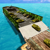 Army Ship Transporter Game Cargo Truck Driver