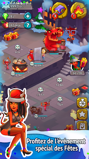 Code Triche Idle Evil Clicker: jeu de Noël  APK MOD (Astuce) screenshots 3