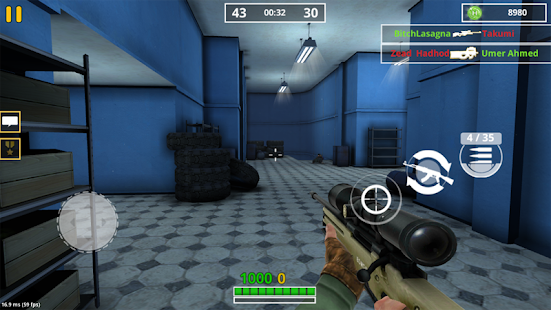 ApkMod1.Com Combat Strike FPS War Online Gun Shooting Games + (Free Shopping) for Android Game Simulation