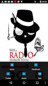 Web Rádio Humor Total screenshot 2