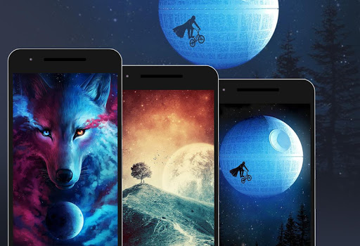 Walli - HD Wallpapers & Backgrounds app (apk) free download for Android/PC/Windows screenshot