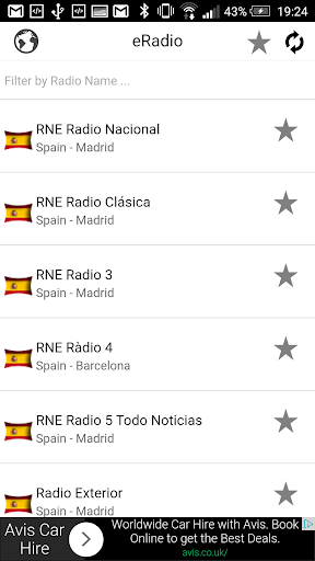 Radios de España Spain