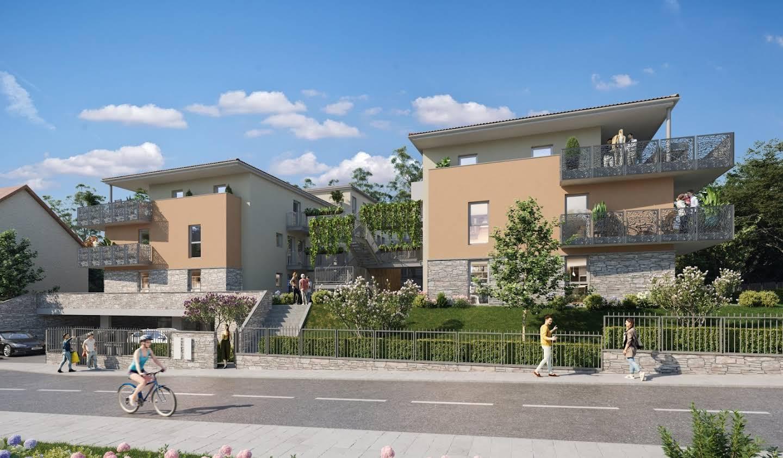 Appartement avec terrasse Jassans-Riottier