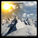 Winter Mountain Live Wallpaper icon