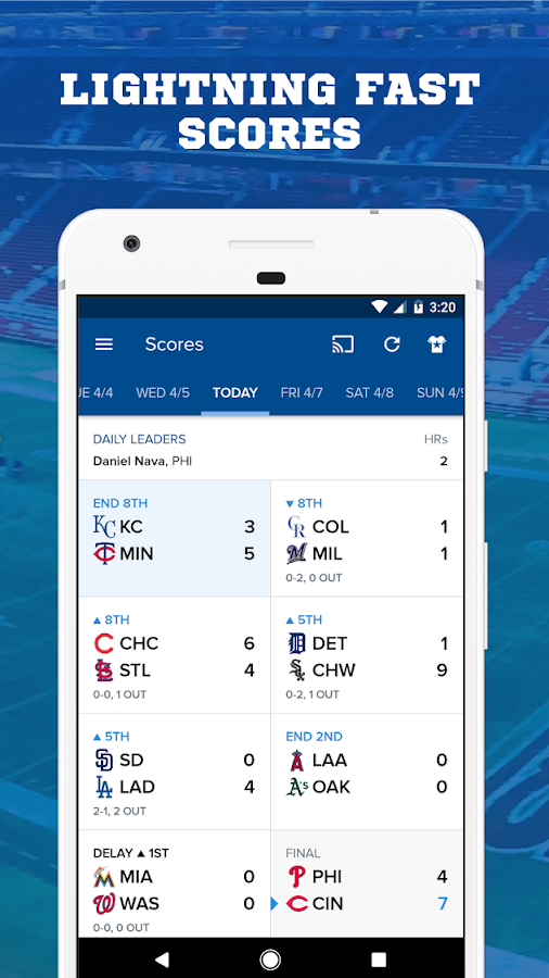 CBS Sports App - Scores, News, Stats & Watch Live- screenshot