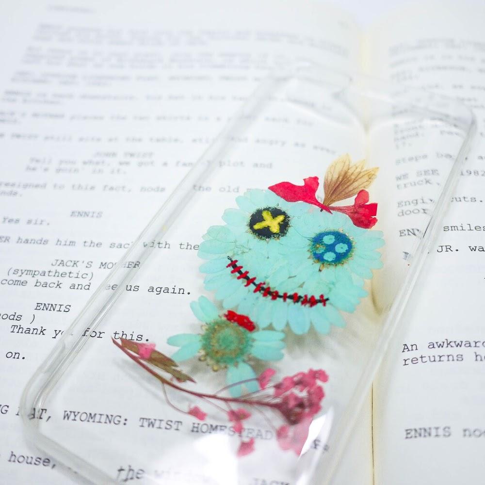 [訂製/custom-made] 最底有齊所有卡通款! 小甘押花手機殼 Scrump Pressed Flower Phone Case