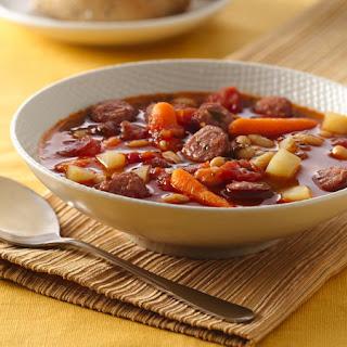 Bratwurst and Vegetable Soup Recipe