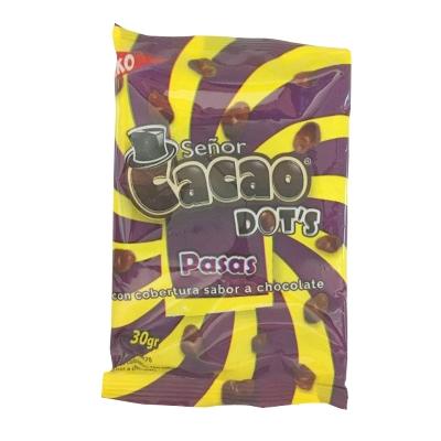 Chocolate Senor Cacao Dots Pasas 30gr