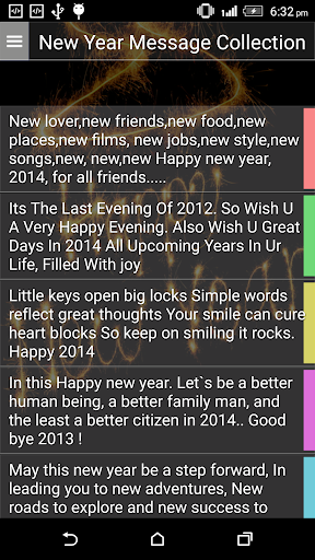 New Year Message Collection